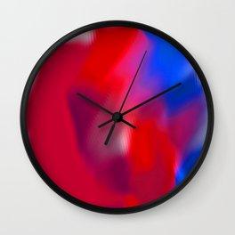 rippled abstract Wall Clock