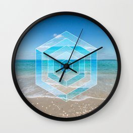 Sacred Geometry Seaview Wall Clock