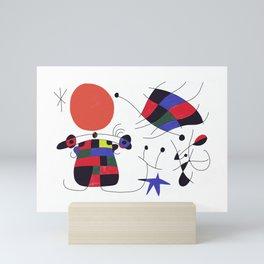 Joan Mirò #3 Mini Art Print