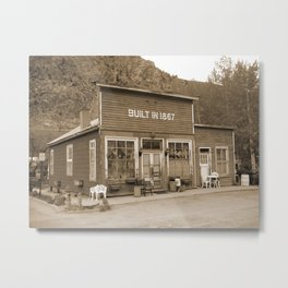 Georgetown CO Metal Print