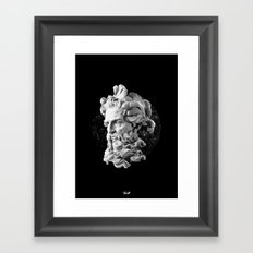 Sculpture Head II Framed Art Print