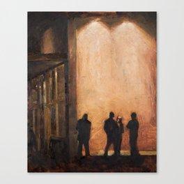 Provo at Night Canvas Print
