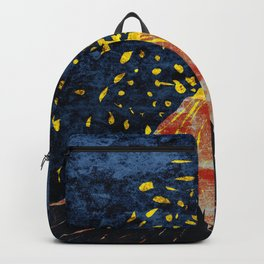 Erupting volcano Backpack