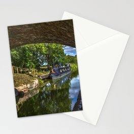 Under The Bridge At Pewsey Wharf Stationery Cards