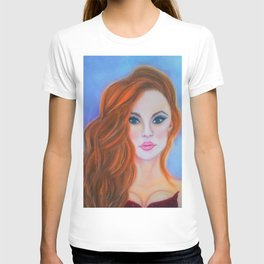 Glamorous Redhead Jessica Rabbit T-shirt