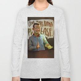 One Marijuana Please Long Sleeve T-shirt