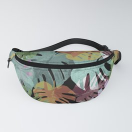 Monstera Night Glory Fanny Pack