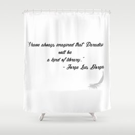 Quote 3 Shower Curtain
