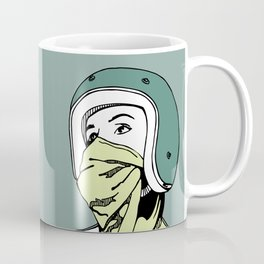 Green Scarf Coffee Mug