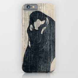 Edvard Munch - The Kiss iPhone Case