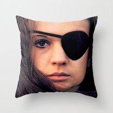 Thriller: A Cruel Picture Throw Pillow