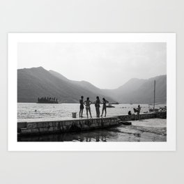 Montenegro Art Print