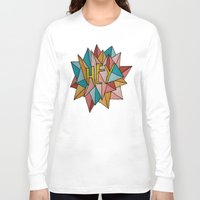 pixies Long Sleeve T-shirts featuring HEY by Josh LaFayette