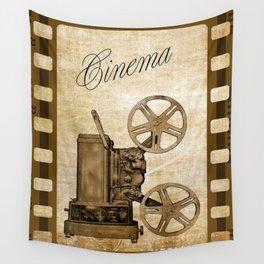 Old Cinema Reels Wall Tapestry