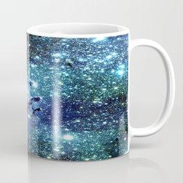 GalaxY Nebula Blue Teal Indigo Coffee Mug