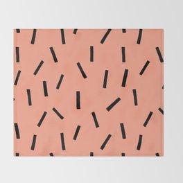 Confetti Sprinkles Throw Blanket
