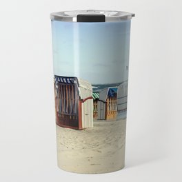 Beach chairs Travel Mug