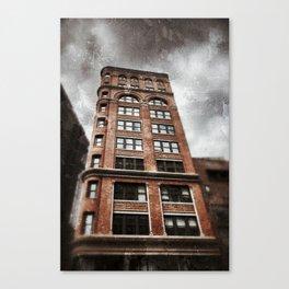 NYC building Canvas Print