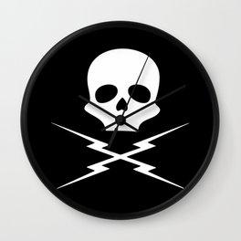 Deathproof skull Wall Clock