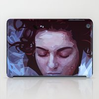 laura palmer iPad Cases featuring Laura Palmer from Twin Peaks by Alice Teal