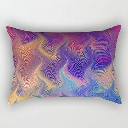 MARBLING PATTERN-3 Rectangular Pillow