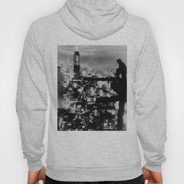 New Yorker Sitting On A Ledge Hoody