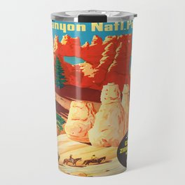 Vintage poster - Bryce Canyon Travel Mug