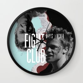 Tyler Durden | FC, David Fincher Wall Clock