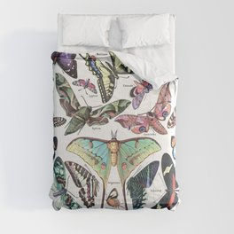 Adolphe Millot- Vintage Papillon Comforters