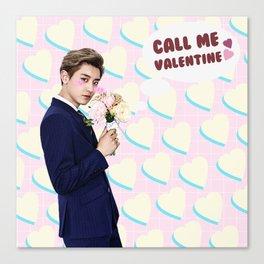Call Me Valentine - Chanyeol Canvas Print