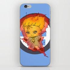 Chibi Human Torch iPhone & iPod Skin