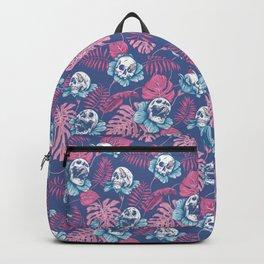 SKULLS & ROSES (Pink) Backpack