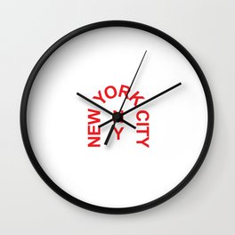 New York Arch Wall Clock
