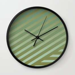 Variation of pattern by grey tones 3 Wall Clock