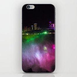 Niagara at Night iPhone Skin