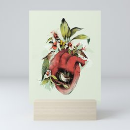 Heart Of Birds Mini Art Print