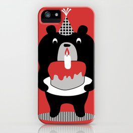 Cake Bear iPhone Case