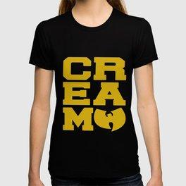 Rza Gza Odb Method Rap Tee Cream Cash Rules Mens Hip Hop T-Shirts T-shirt