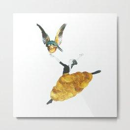 Bird ballet Metal Print