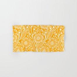 Saffron Coneflowers Hand & Bath Towel