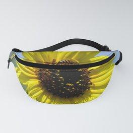 Sunflower bloom Fanny Pack