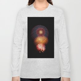 Fireworks Display Long Sleeve T-shirt