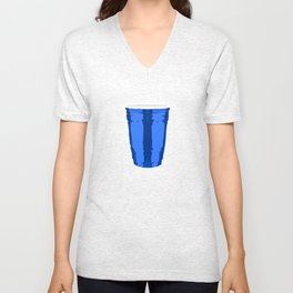 CLARITY CUP BLUE (BIG) Unisex V-Neck