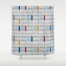 S04-2 - Facade Le Corbusier Shower Curtain