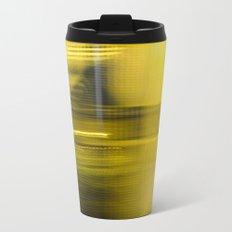 Yellow Lights Speed Effect Travel Mug