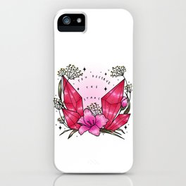 you deserve the stars iPhone Case