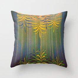 Inner Paradise / Encounter Throw Pillow