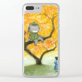 Chinese Alice in Wonderland Clear iPhone Case