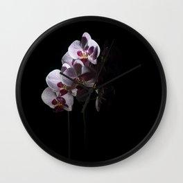 Orchidee 1 Wall Clock