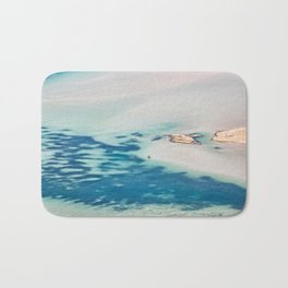 The unbelievable beauty of Balos Lagoon in Crete, Greece Bath Mat